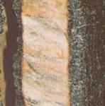 Trave di legno sottoposta a incendio
